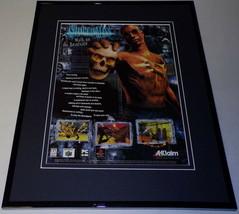 Shadow Man 1999 N64 PS1 Framed 11x14 ORIGINAL Advertisement - $22.55