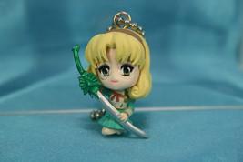Bandai Clamp Magic Knight of Rayearth Gashapon Figure Keychain Fuu Hououji - $15.99