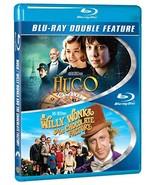 Hugo / Willy Wonka & the Chocolate Factory (Blu-ray) - $5.95