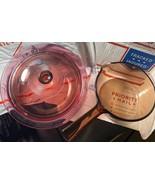 Corning Ware Pyrex VISION - Round Cranberry 1L w/ Lid & Saucepan Amber 1L - 3pc - $69.26