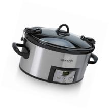 Crock-Pot 6-Quart Programmable Cook & Carry Slow Cooker with Digital Tim... - €32,01 EUR
