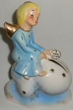 1956 California Pottery Yona Originals One Cent Ceramic Angel Bank - $49.49