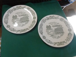 Great Vintage Set of 2 ROYAL CHINA Dinner Plates - $5.26
