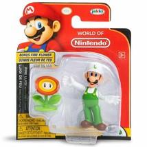 Nintendo™ Super Mario™ Figurine fire luigi with fire flower w - $12.99
