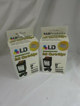 2 LD Remanufactured Replacement for HP 78 C6578D Color Ink Cartridge 52208 - $59.39
