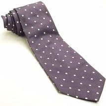 Plum Purple Polka Dot Tie | Ralph Lauren Silk Necktie - $69.29