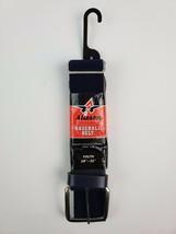 New Baseball Belt Alleson Athletic Navy Belt Adjustable Elastic Youth 12... - $8.59