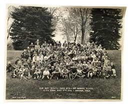 Cub Boy Scouts Annual Picnic Pack #9 No. 9 Denver Colorado 1942 - $47.51