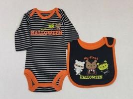 Carter's 2 Piece First Halloween Outfit for Boys Newborn 3 or 6 Months D... - $12.00