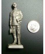 Franklin Mint Pewter 1899 Navy Lieutenant Figurine WW II Edition 1980 Re... - $4.95