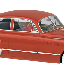 Dr. Mullers Roadmaster 1/24 Voiture Tintin Cars New 2019 Land of the black Gold image 2