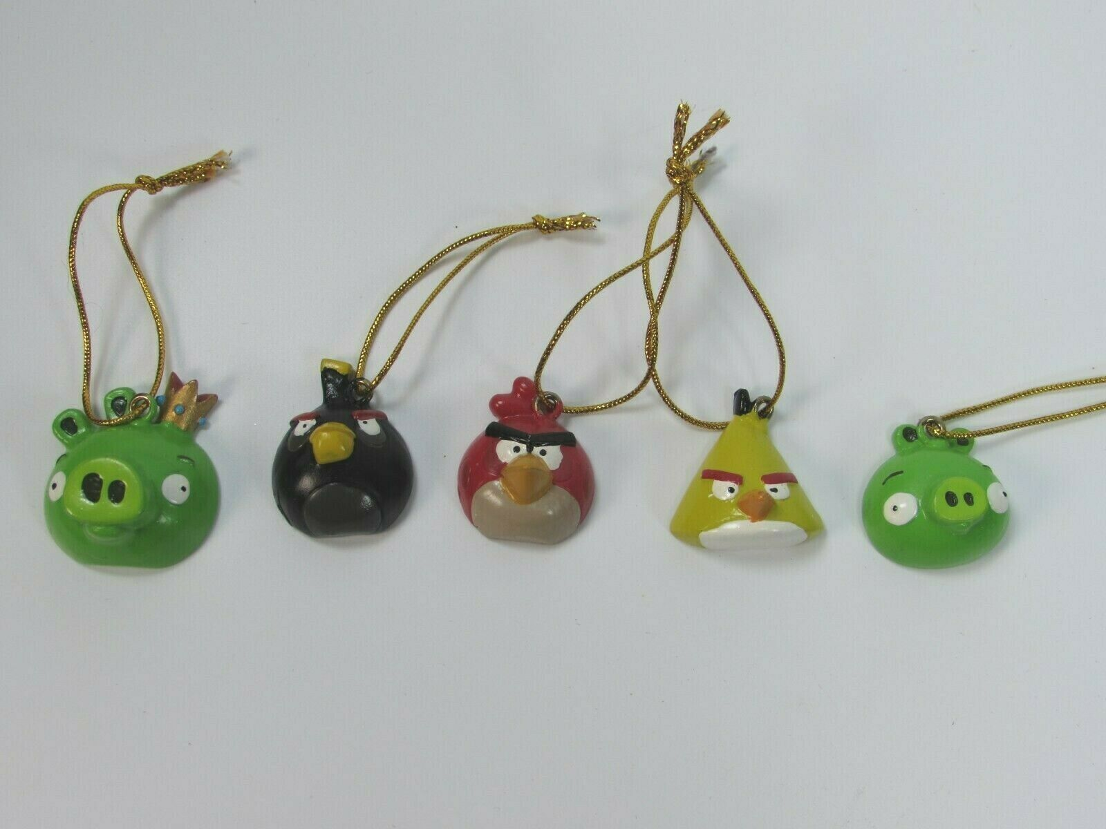 Angry Birds Christmas Ornaments Set Of 5 28892