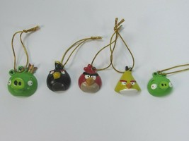 Angry Birds Christmas Ornaments Set Of 5 28892 - $17.81