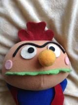 Rare Hamburger Kid Japan Sega Prize  Anpanman Spinning Plush Doll - $9.80