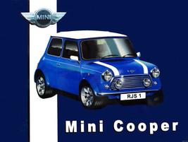 Mini Cooper Metal Advertising Sign - $17.95