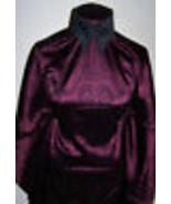 Burgundy and Black Stretch Brocade Sample Cut Lycra Stretch  Fabric 2 Ya... - $50.00