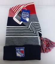 New York Rangers 2014 NHL Stadium Series Fitted Cuffless Knit Beanie Hat... - €13,27 EUR