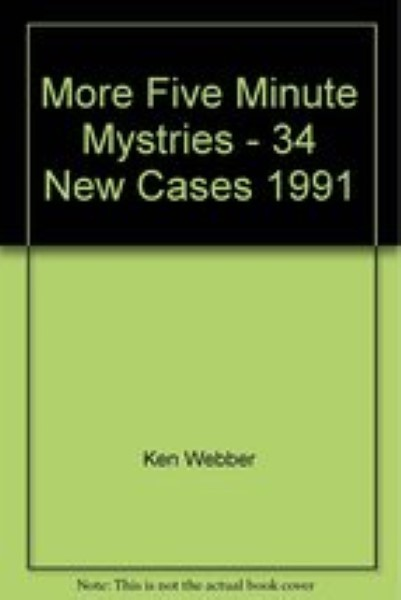 More Five Minute Mystries - 34 New Cases
