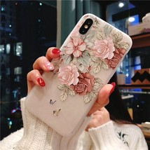 3d Flower Silicone Phone Case For Xiaomi Redmi (3d Relief Flower 10) - $12.99