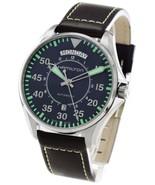 Hamilton H64615545 Men's Khaki Aviation Blue Dial Leather 42mm Automatic... - $719.32