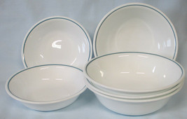 Corelle Corning Blue Haven Fruit and Cereal bowls set of 6 - $30.58