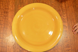 Playa Yellow/Orange by TABLETOPS UNLIMITED Dinner Plate - $15.00