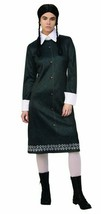 Wednesday Addams Adult Womens Large Dress Costume Cosplay The Addams Family New - £22.79 GBP