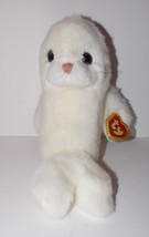 Ty Classics Misty Plush 11in White Seal Stuffed Animal Retired with Tag ... - $29.99