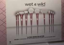 Wet N Wild Limited Edition 10 Piece Holiday Pro Brush Collection Set  2018 - $42.99