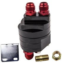 Oil Cooler Adapter Sandwich Turbo Kit Thermostat Fitting 3/4-16 Unf M20x... - $33.31