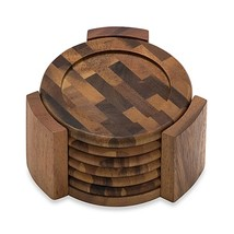 Lipper International Acacia Coasters (Set of 6) - $24.99