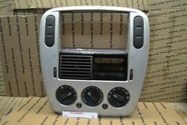 02-05 Ford Explorer Radio Bezel Dash Trim 1L2X7804302 Panel 96-11f6 - $29.99