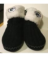 Green Bay Packers NFL Women's Knit Slipper Boots, Size Medium (7/8) NWT - $23.36