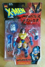 MARVEL COMICS X-MEN MONSTER ARMOR WOLVERINE ACTION FIGURE BY TOYBIZ - $14.99