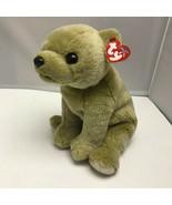 "Ty Original Beanie Buddy Almond Bear Plush Stuffed Animal Soft Toy 12"" - $39.99"