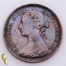 1886 Great Britain 1/2 Penny  (VF+) Very Fine Plus Condition - $69.30