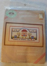 """NEW Dimensions Needlepoint Kit - Home is Where the Heart Is 16"""" x 8"""" #52001 NIP - $24.99"""