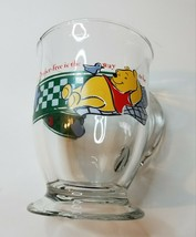 Disney Anchor Hocking Winnie The Pooh Bother-free is the place to be Glass Mug - $9.99