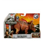 Jurassic World Fallen Kingdom Roarivores Triceratops Action Figure            L6 - $19.97