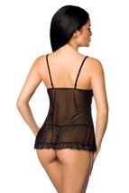 Vestaglia incl. perizoma babydoll lingerie sexy biancheria da notte image 2