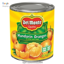 UPC 024000021834 Del Monte Mandarin Oranges in Light Syrup, 8.25 oz, 10 ... - $28.00