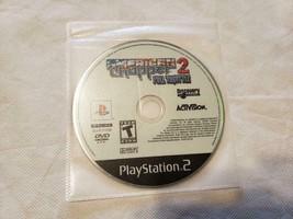 American Chopper 2 Full Throttle Racing Game PS2 Playstation 2 - GAME DI... - $4.95