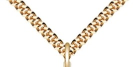 CROSS - 12kt Gold Filled Medal Pendant - 0029Y image 3