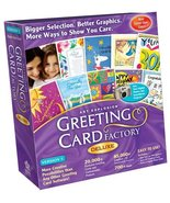 Art Explosion Greeting Card Factory Deluxe 5.0 [Old Version] - $5.89