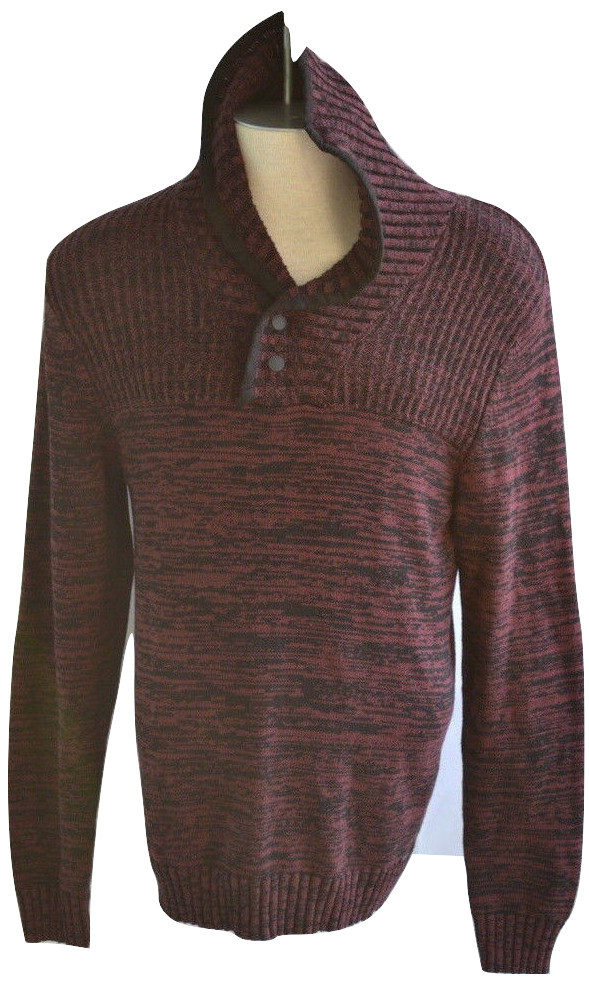 dc099f2e9 GUESS Men's Red Size L Sweater Bond Shawl and 50 similar items