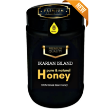 Pine Premium Collection Ikarian Honey 920gr-32.45oz In Luxury Jar With Brochure - $100.80