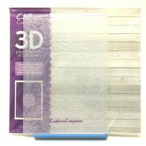 "Crafter's Companion 3D Embossing Folder Graceful Frame 5""x7"" Crafts Scra... - $9.00"