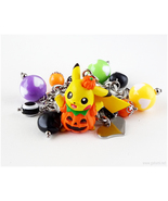 Pikachu Charm Bracelet, Halloween, Kawaii Jewelry, Creepy Cute, Jfashion - $32.00