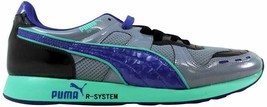 Puma RS100 Opulence Tradewinds/Black-Blue 356864 01 Men's - $60.62