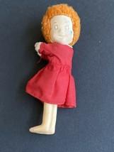 Vtg 1982 Applause Little Orphan Annie Clip-On Doll Plush Mini 80s - $14.84